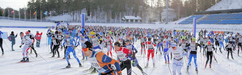 Toista kertaa Finlandia-hiihdossa