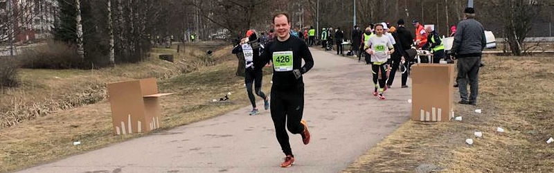 Helsinki Spring Half Marathonilla hyvä juoksu